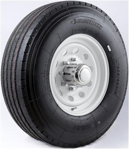 "16"" Silver Mod Wheel/Tire Radial - WTR166865SM235G"
