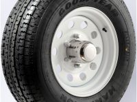 "16"" White Mod Wheel/Tire Radial - WTR166865WM235E"