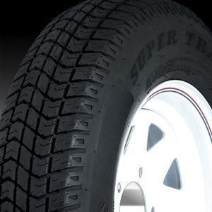 "14"" White Mod Wheel/Tire - WTB146545WM205C"