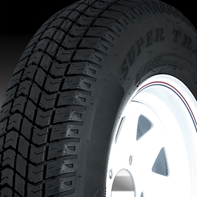 "15"" Silver Mod Wheel/Tire - WTB155550SM205C"