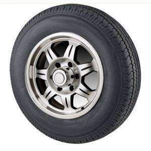 "13"" Aluminum Wheel/Tire Radial - WTR135545A175C"