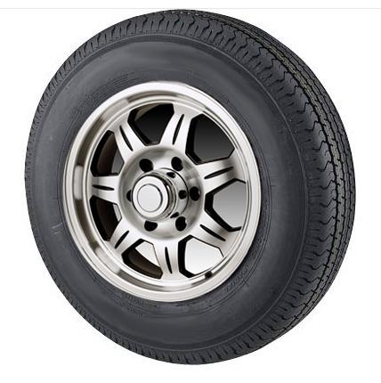 "14"" Aluminum Wheel/Tire Radial - WTR146545A205C"