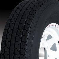 """16"""" Silver Mod Wheel/Tire Radial - WTR166655SM235E"""