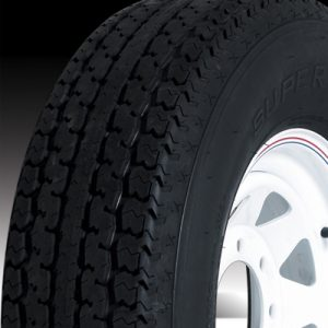 "16"" White Mod Wheel/Tire Radial - WTR166865WM235E"
