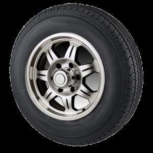 "15"" Aluminum Wheel/Tire Radial - WTR156550A205C"