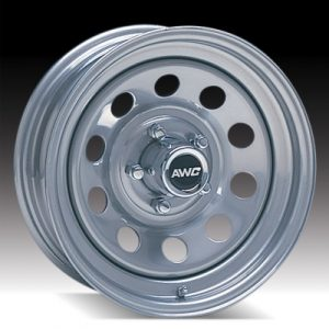 "15"" Silver Mod Wheel - W155550SM"
