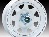 "15"" White Spoke Wheel - W155550WS"