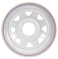 """16"""" White Spoke Wheel - W166655WS"""