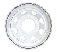"16"" White Spoke Wheel - W166865WS"