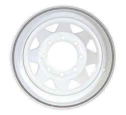 """16"""" White Spoke Wheel - W166865WS"""