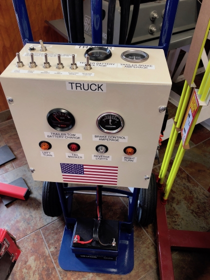 Trailer and Truck Test Box - MIS TRAILER-TESTER