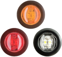 "3/4"" Sealed Clearance Lights - MCL-11AKB / MCL-11RKB"