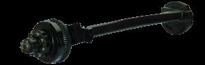 12,000 lbs. Axle - #14 Torflex - 12K