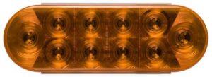 Oval Amber Light - STL-72AB