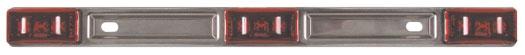 Stainless 3 Light Bar - MC-97RB
