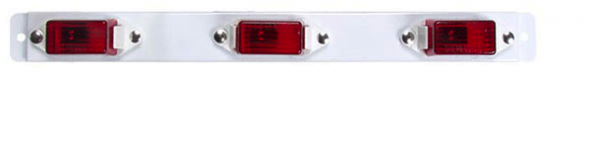 Red 3 Light Bar - MC-99RB