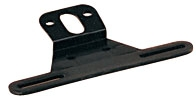 License Plate Bracket - Black Polymer - OPT LP-10SB